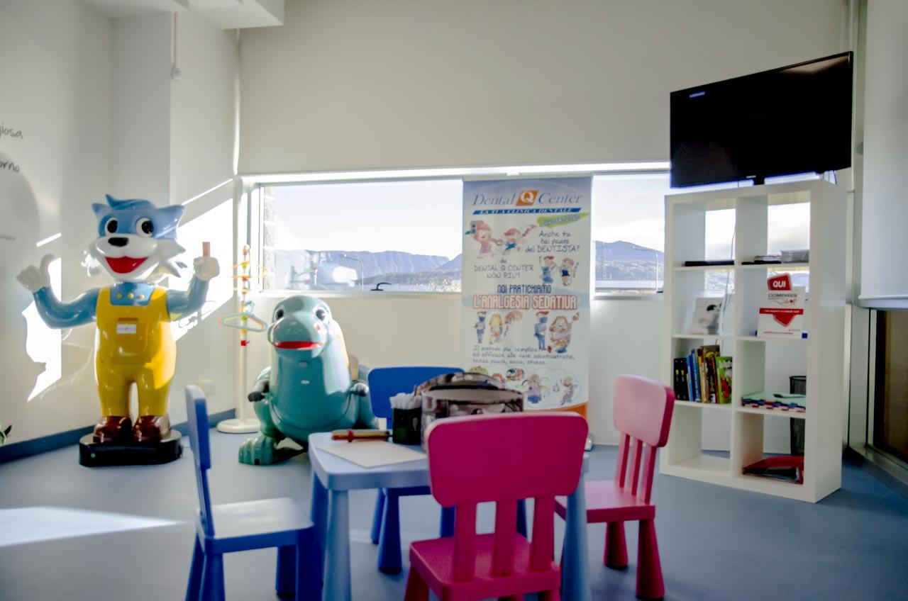 Studio Dentistico a Belluno | Sala bambini 4 | Dental Q